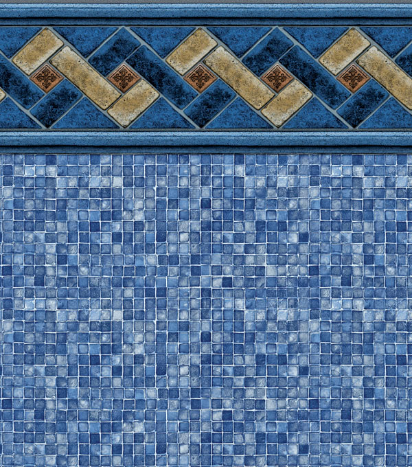 MOUNTAIN TOP / BLUE MOSAIC