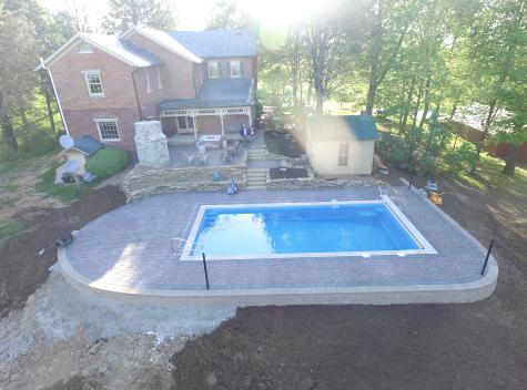 One Piece Fiberglass Pools - The Pool People