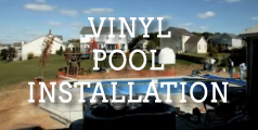 Vinyl Pool Installation Video